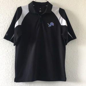 Men NFL Lions Polo shirt size Medium